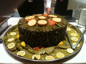 grape leaves catering at Evelyns of new brunswick
